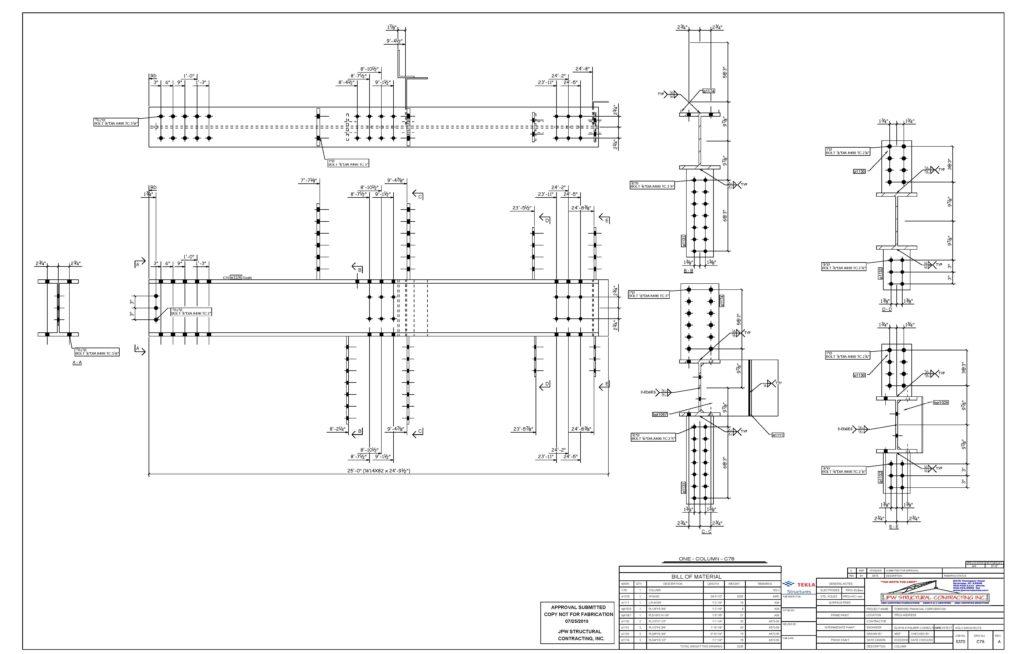 Engineering & Shop Drawings – JPW Companies